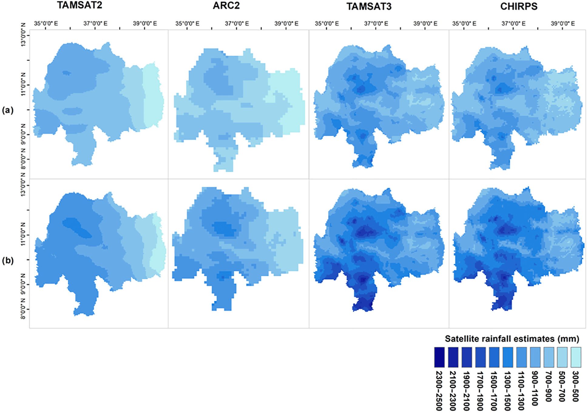 AMT - Validation of new satellite rainfall products over the