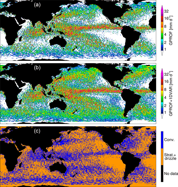 ACP - Relations - On the distinctiveness of observed oceanic