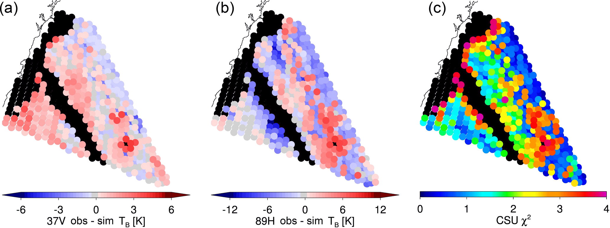AMT - Towards variational retrieval of warm rain from passive