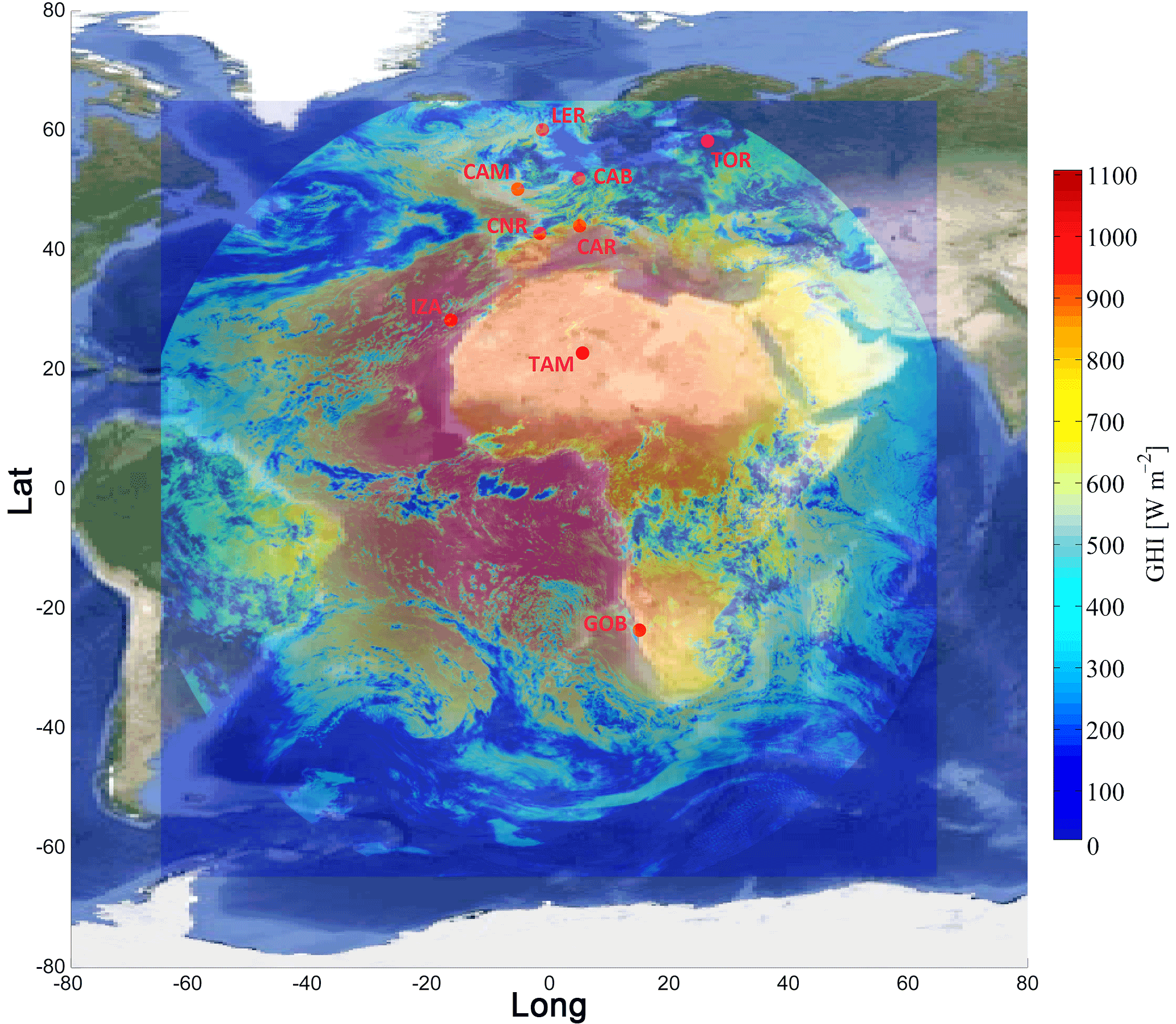 AMT - Assessment of surface solar irradiance derived from