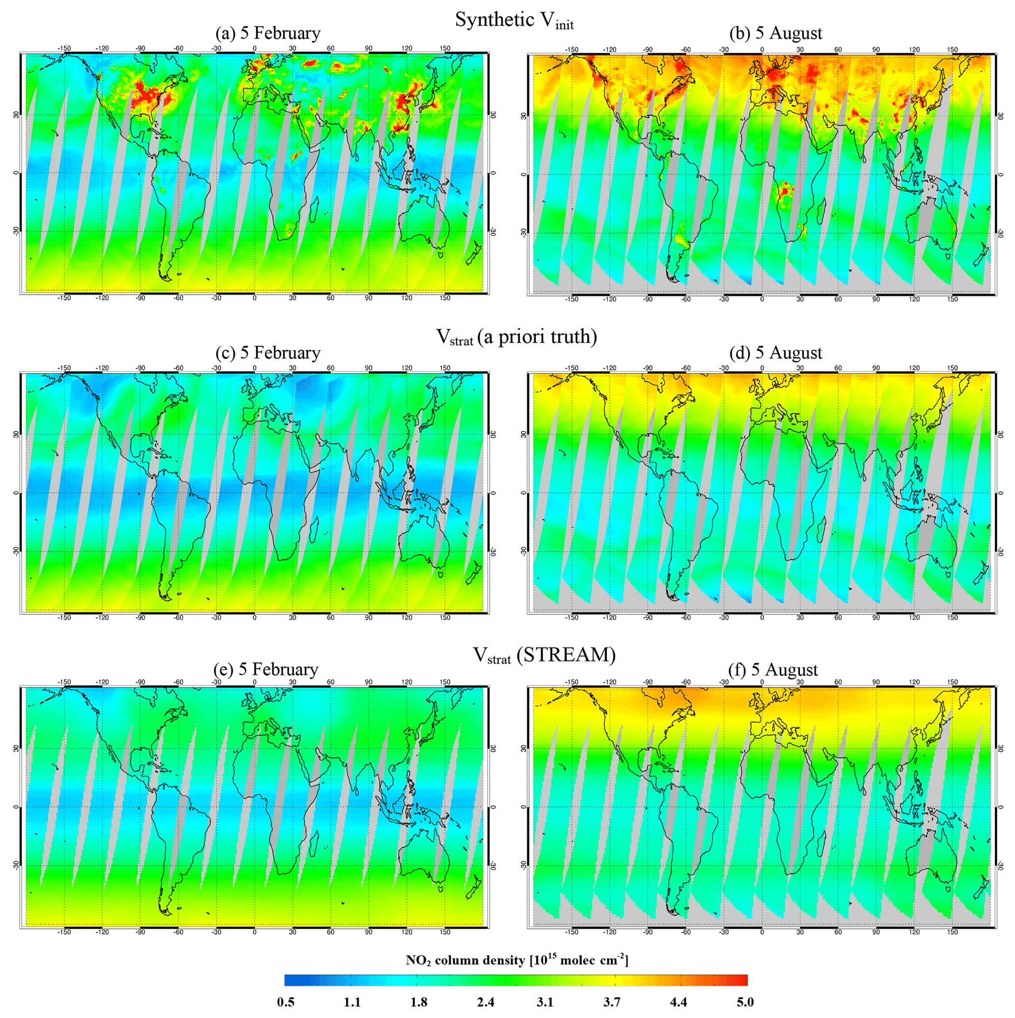 AMT - An improved total and tropospheric NO2 column retrieval for GOME-2