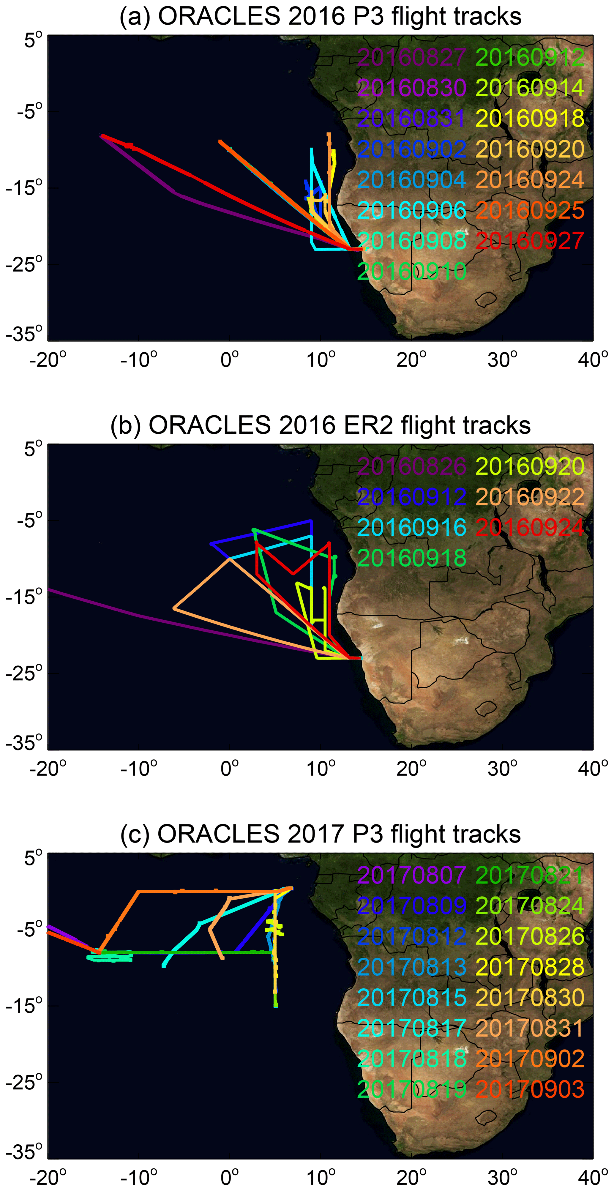 AMT - Two decades observing smoke above clouds in the south